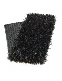 Gazon synthétique couleur noir Pur 20 mm