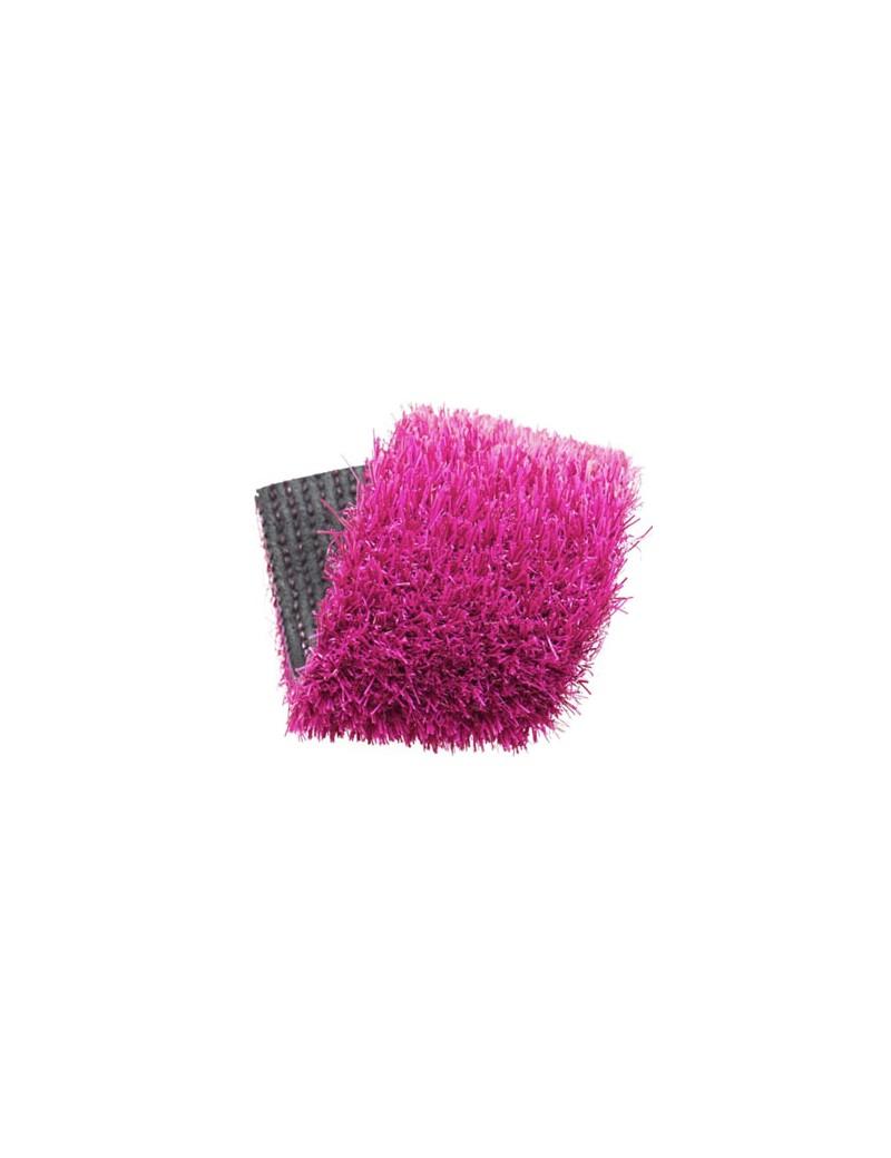 Gazon synthétique couleur rose 20 mm