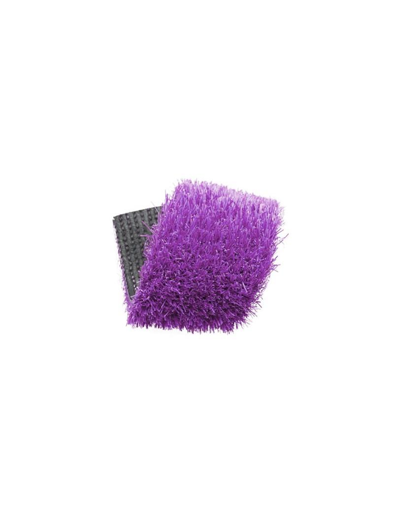 Gazon synthétique couleur violet 20 mm