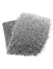 Gazon synthétique couleur gris clair 20 mm