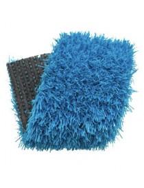 Gazon synthétique couleur turquoise 20 mm